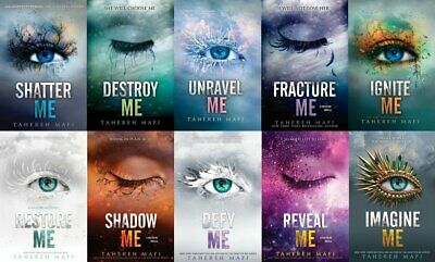 ⭐Best Offer⭐ Shatter Me Full Series by Tahereh Mafi COLLECTION 1 - 10 P-D-F ✔️