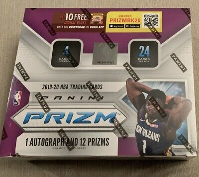 2019-20 Panini Prizm NBA Retail Pack from Sealed Box -2 Free Basketball Cards 🔥