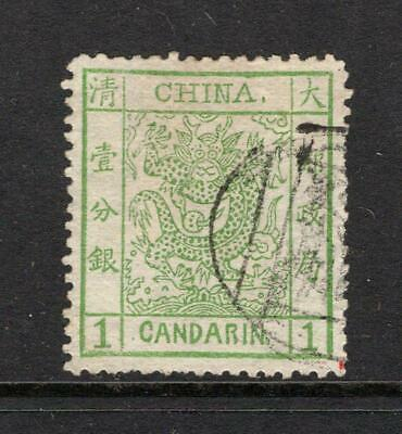 China 1878 1 Candarin - Used - SC 1   No Reserve