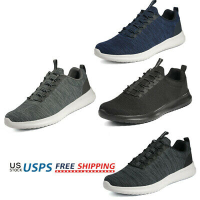 Mens Lightweight Casual Walking Shoes Sport Running Athletic Sneakers