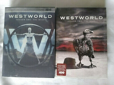 Westworld Season 1-2 DVD Region 1 One and Two Complete Brand New Freeshipping
