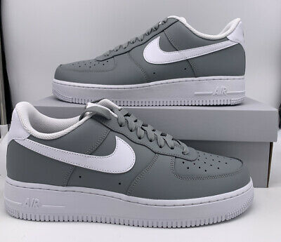 Nike Air Force 1 07 Retro Wolf Grey CK7803-001 Mens Size