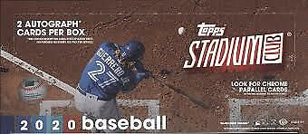 2020 Topps Stadium Club 1-300 Base Cards - Inserts - Parallels U PickChoose