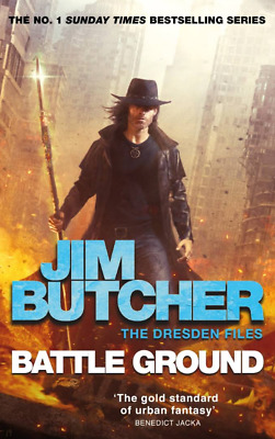 Battle Ground by Jim Butcher HARDCOVER
