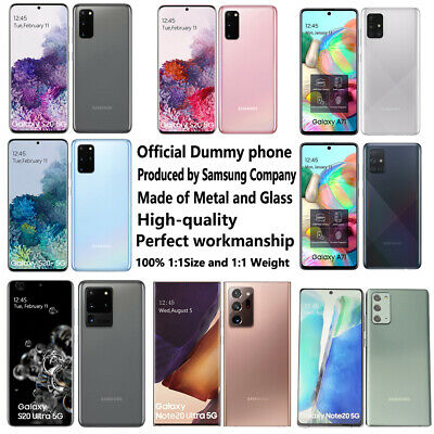 Official Dummy phone fake display model For Samsung Galaxy Note20 Ultra S20 FE