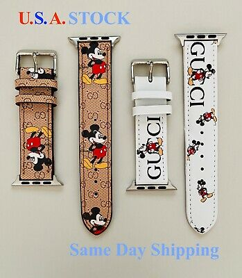 Apple Watch Band Genuine Leather Strap For Series 6 5 4 3 2 1 3840mm 4244mm