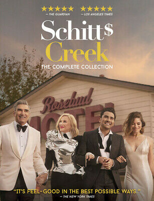 Schitts Creek The Complete Collection New DVD Boxed Set Dolby Ac-3Dolby