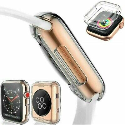 Watch Apple Watch Series 6 5 4 3 2 Tpu Screen protector Cover Case 38404244mm
