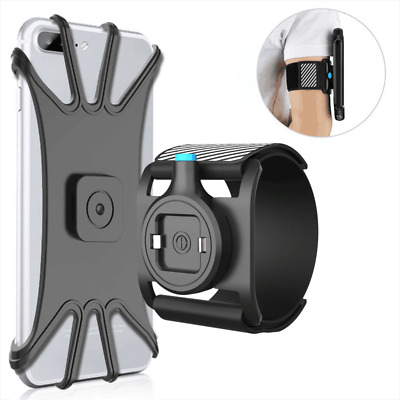 Universal Running Armband Sports Wristband Phone Holder with Easy Mount