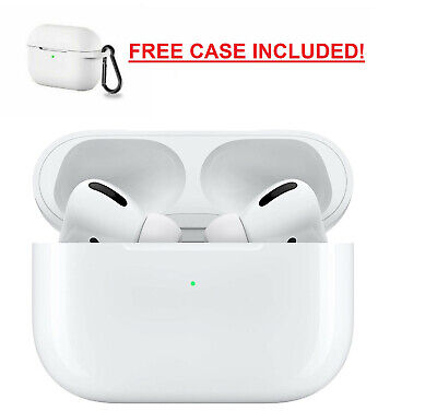 Apple AirPods Pro With Wireless Charging Case - White - MWP22AMA - Free Case