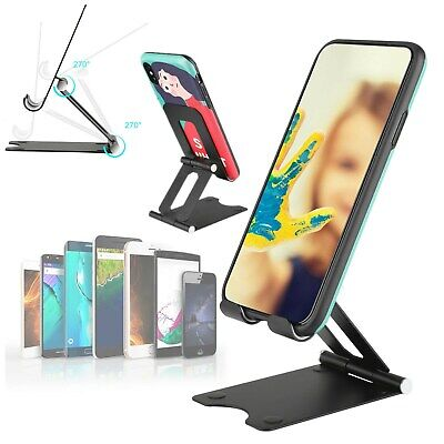Cell Phone Tablet Switch Stand Aluminum Desk Table Holder Cradle For iPad Phone