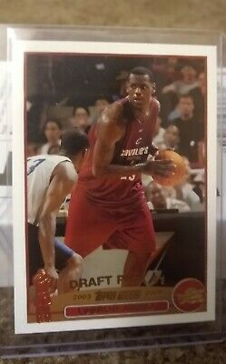 2003-04 Topps LeBron James Rookie Card- Gold Foil 221 Low Pop 575 obo
