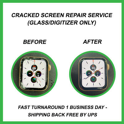 Apple Watch Series 4 - Screen Repair Service Glass only - Free Gift