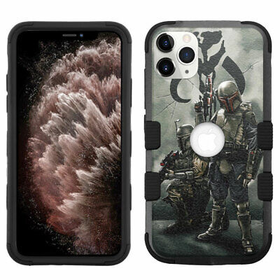 for iPhone 11 Pro Max Hybrid Rugged Impact Armor Case Soldiers SD