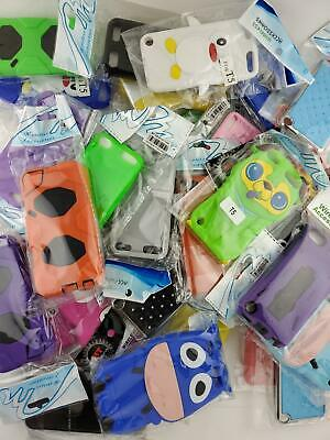 Wholesale Closeout Bulk Lot of 500 Ipod Touch 56 Cases Covers Skins