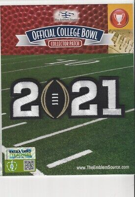 2021 CFP College Football National Championship Game Patch Alabama Ohio State