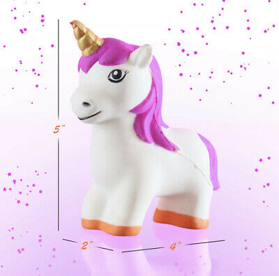 Cute Unicorn Slow Rising Squeeze Stress Reliever Toy Gift