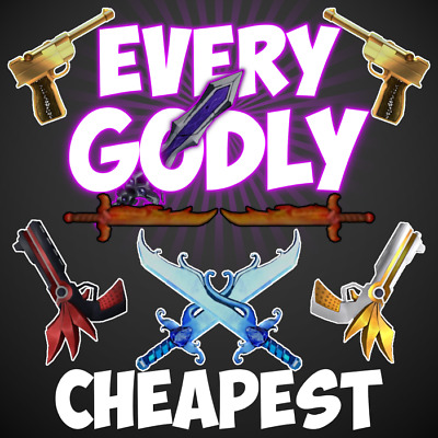Cheap Roblox Murder Mystery 2 MM2 EVERY Godly FAST DELIVERY