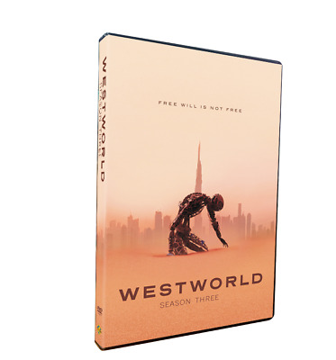 Westworld Season 3 3-Discs SetDVD New - Sealed Free Shipping Region 1