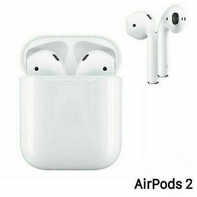 Apple Airpods 2nd Generation With Wireless Charging Case In-Ear Headphones White
