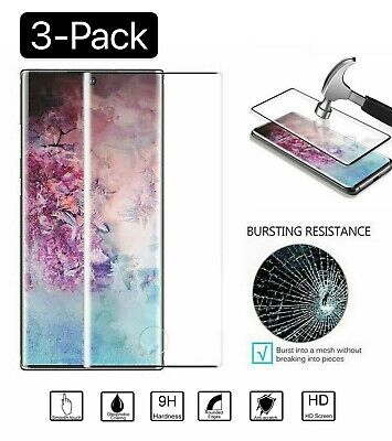 3Pcs For Samsung Galaxy S10 Plus S10e Cover Tempered Glass Screen Protector Film