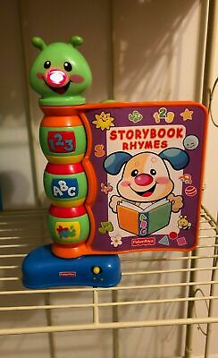 Fisher Price Laugh - Learn Storybook Rhymes Lights and Sounds Book