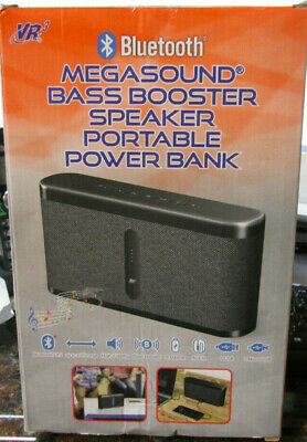 VR3 Megasound Bluetooth Speaker And Portable Power Bank - 8-000mA