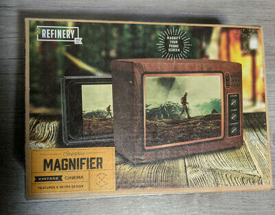 Refinery And Co- Smartphone Cell Phone Magnifier Vintage Cinema Retro TV Design