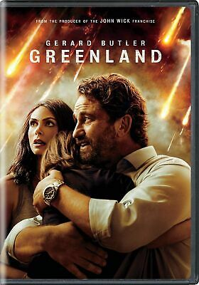 Greenland DVD - Gerald Butler - Brand New Unopened - Free Shipping