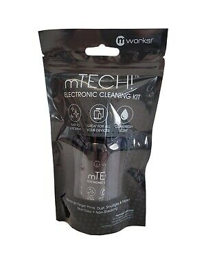 Electronic Cleaning Kit mWorks mTech Microfiber cloth pouch cleaning spray