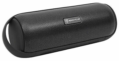 Rockville RPB25 Bluetooth Speaker For iPhoneAndroidLaptop wUSB-SD-Aux In-FM