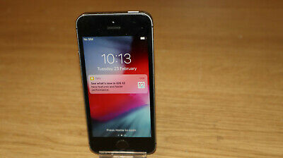 Apple iPhone 5S  16GB  GSM Smartphone A1457 Space Grey EE  (31)