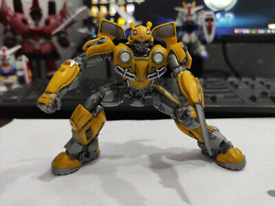 Trumpeter Transformers Bumblebee Smart Kit Assemble Model Plastic Toys Yellow