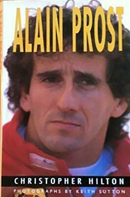 Alain Prost by Hilton Christopher Hardback Book The Fast Free Shipping