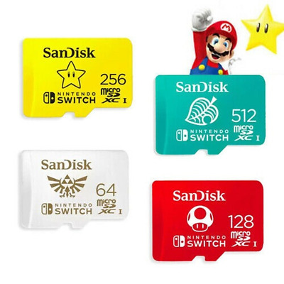512GB SANDISK NINTENDO SWITCH micro SD MicroSD TF Memory Card LOT 256GB 128GB US