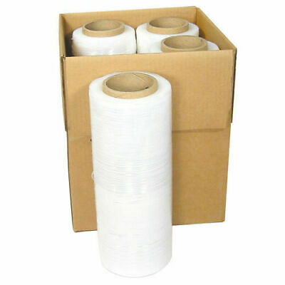 18 x 1500FT 80 Gauge Pallet Wrap Stretch Film Shrink Hand Wrap 1500 4 Rolls
