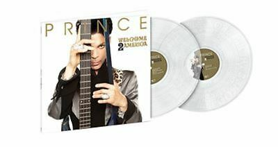 PRINCE Welcome 2 America Edition Limitée Exclusivité Vinyle Transparent