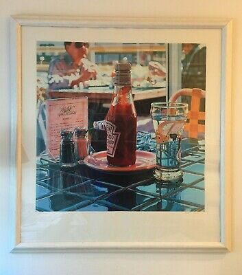 1978 Still Life by Ralph Goings Hand Signed Offset Lithograph Print
