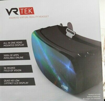 VR TEK ANDROID VIRTUAL REALITY HEADSET-NEW
