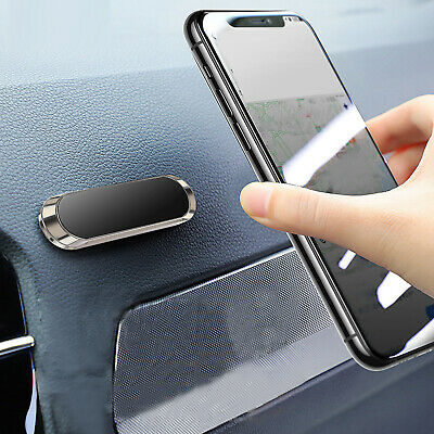 Strip Shape Magnetic Car Phone Holder Stand For iPhone Magnet Mount Universal ES