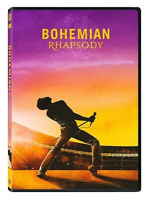 Bohemian Rhapsody DVD 2018 - Queen FREE SH New - Sealed