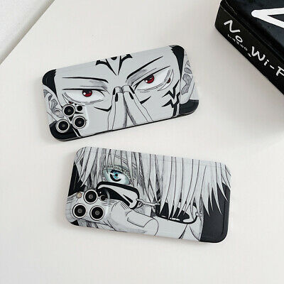For iPhone 12 Pro Max 11 XR XS Max 7 8 Cartoon Anime Shockproof Phone Case Cover