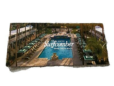 KIMPTON SURFCOMBER MIAMI HOTEL GIFT CERTIFICATE- 2 Nights - 3 Days - 700 Value