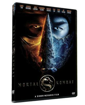 Lewis Chen Mortal Kombat DVD- Movie Full movie usps free shipping  NEW