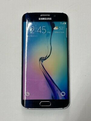 Non-Functioning Blue Samsung Galaxy S6 Edge Smartphone toy mock dummy phone
