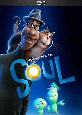 SOUL - Disney Pixar DVD 2021 New - Sealed FREE Shipping