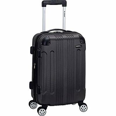 London Hardside Spinner Wheel Luggage Carry-On 20-Inch Grey