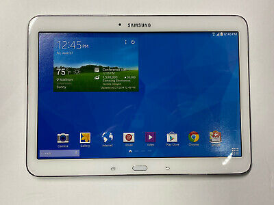 Non-Functioning White Samsung Galaxy Tab 4 Tablet toy mock dummy phone