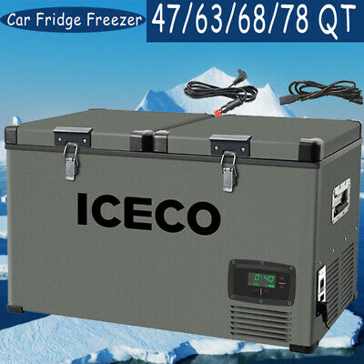 47636878QT ICECO Portable Refrigerator With SECOP Compressor Camping Truck