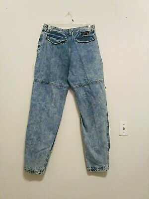 Mens Vintage Blue Denim Bugle Boys Rescue Post Tapered Relaxed Jeans 32 x 33